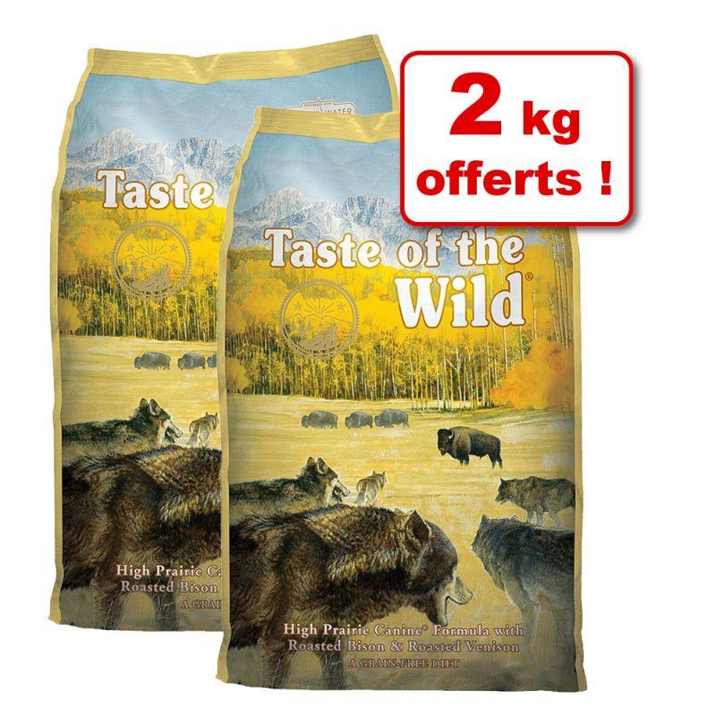 Croquettes Taste of the Wild 2 kg + 2 kg offerts !