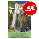 Croquettes Taste of the Wild 6,6 kg pour chat : 5 € de réduction !