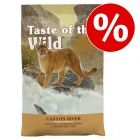 Croquettes Taste of the Wild 2 / 6,6 kg pour chat à prix spécial !