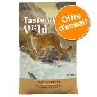 Croquettes Taste of the Wild 2 x 2 kg à prix spécial !