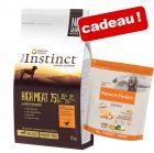 Croquettes True Instinct 10/12 kg + Medium Adult Free Range, poulet 600 g offert !