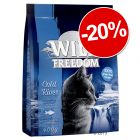 Croquettes Wild Freedom 400 g : 20 % de remise !