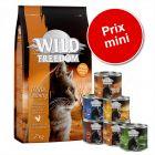 Croquettes Wild Freedom 6 kg + lot mixte de boîtes 6 x 200 g à prix mini !
