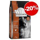 Croquettes Wild Freedom pour chat 2 kg : 20 % de remise !