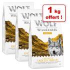 Croquettes Wolf of Wilderness Explore pour chien 2 + 1 kg offert !