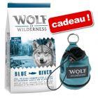 Croquettes Wolf of Wilderness 12 kg + pochette à friandises offerte !