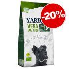 Croquettes Yarrah Bio Vega 10 kg pour chien : 20 % de remise !