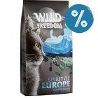 40 de lei reducere! 3 x 2 kg Wild Freedom Hrană uscată pisici