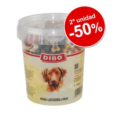 Dibo mix huesitos 2 x 500 g snacks en oferta: 2ª ud. al -50%