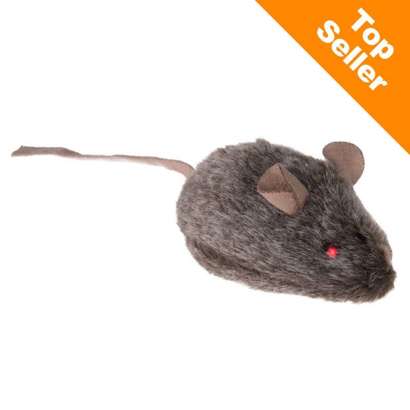 Divoká myška pro kočky - pípající se svítícíma očima