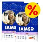 Dobbeltpakke IAMS Adult Multi-Cat Household, Pro Active Health
