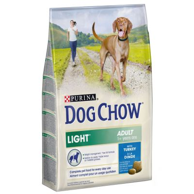 Dog Chow Adult Light Kalkoen Hondenvoer