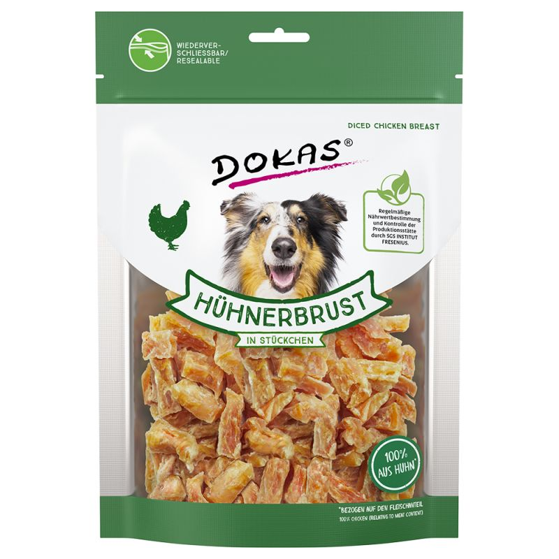Dokas Friandises à mâcher filet de poulet pour chien
