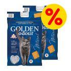 Doppelpack Golden Grey Odour Katzenstreu
