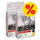 Doppelpack PURINA PRO PLAN Katzenfutter 2 x 10 kg