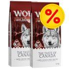 "Doppelpack Wolf of Wilderness ""The Taste Of"" 2 x 12 kg"