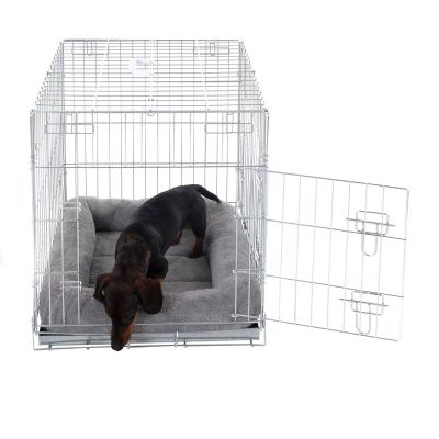 Double Door Crate with Cushion