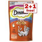 Dreamies Cat Treats - 2 + 1 Free!*