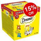 Dreamies Cat Treats - 15% Off!*