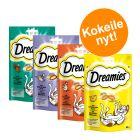 """Dreamies """"Dreamland"""" -kokeilupakkaus 4 x 60 g"""