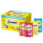 Dreamies Selection Box (kyckling, nötkött, lax, ost)