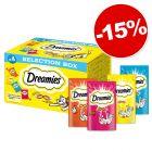 Έκπτωση 15%! Dreamies Selection Box 4 x 30 g