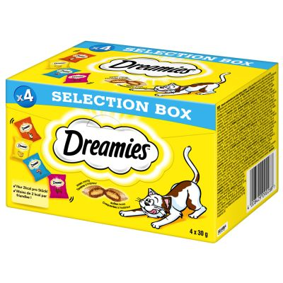 Dreamies Selection Box 4 x 30 g pour chat
