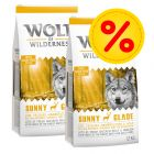 Dubbelpack: 2 x 12 kg Wolf of Wilderness hundmat