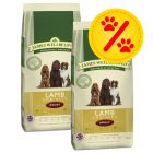 Dubbelpack James Wellbeloved Adult Lamb & Rice