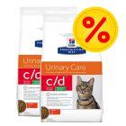 Dubbelpack: Hill's Prescription Diet Feline