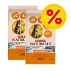 Dubbelpack: IAMS Naturally Cat Adult Salmon