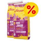 Dubbelpack: Josera Junior hundfoder