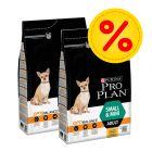 Dubbelpack: 3 påsar Pro Plan SMALL & MINI till extrapris!