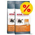 Dubbelpack Royal Canin Hair & Skin 33