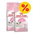 Dubbelpack: Royal Canin Kitten 2 / 3 x 4 kg