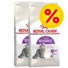 Dubbelpack Royal Canin Sensible 33