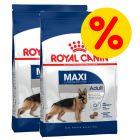 Dubbelpack Royal Canin Size Maxi