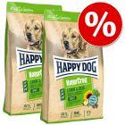 Dubbelpack: 2 stora påsar Happy Dog NaturCroq