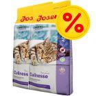 Dubbelpack: 2 x 10 kg Josera kattfoder