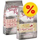 Dubbelpack: 2 x 12 kg Purizon Single Meat hundfoder