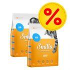 Dubbelpack: 2 x 4 kg Smilla torrfoder