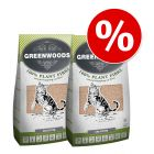 Dubbelpak Greenwoods Kattenbakvulling