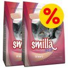 Dubbelpak: Smilla Kattenvoer 2 x 10 kg