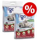 Dubbelpak Tigerino Canada Kattenbakvulling