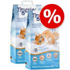 Dubbelpak Tigerino Nuggies Kattenbakvulling