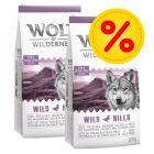 Dubbelpak 2 x 12 kg Wolf of Wilderness Hondenvoer