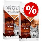 "Dubbelpak: 2 x 12 kg Wolf of Wilderness ""Soft & Strong"""