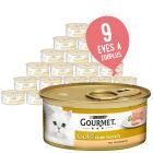 Dupla zooPont: 24 x 85 g Gourmet Gold Paté