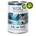 Dupla zooPont: 6 x 400 g Wolf of Wilderness