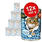 Ekonomično pakiranje O´Canis for Cats 12 x 400 g